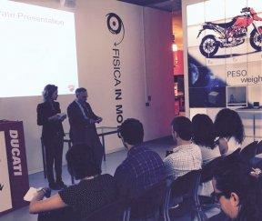 Visita in Ducati, formazione, le palestre di public speaking e project work