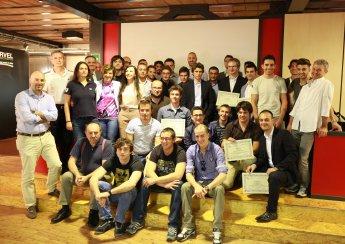 Al traguardo: l'evento conclusivo della 2a edizione del Master in ingegneria della Moto da Corsa