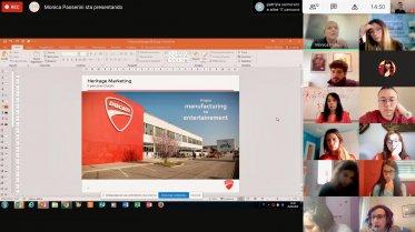Heritage Marketing: il project work con Ducati