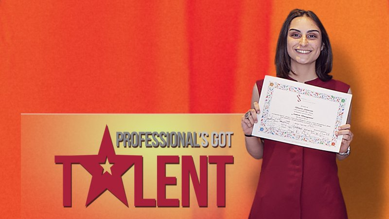 PROFESSIONAL'S GOT TALENT: Monica Schiavone
