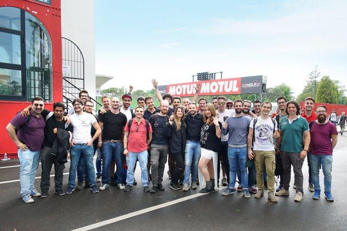 Visita in Protesa e il Mondiale SBK a Imola