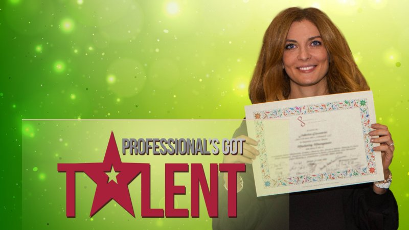 PROFESSIONAL'S GOT TALENT: FEDERICA GIOVANNINI