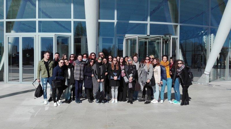 I futuri meeting planner al Palacongressi di Rimini per visitare il centro congressi più grande d'Italia